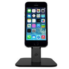 Hirise Black Per Iphone / Ipad Mini -stand Con Supporto Per Cavo Lightning
