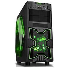 Case NINJA Middle Tower ATX / Micro-ATX Colore Nero