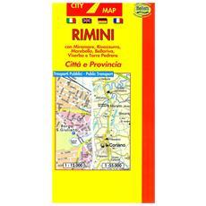Rimini 1:10.000. Con guida turistica