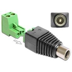 IADAP TB22-DC2555F - Adattatore DC 2.5x5.5 mm Femmina Terminal Block 2 pin