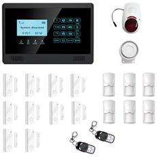 Antifurto Allarme Casa Kit Combinatore Gsm Wireless Senza Fili Da Cellulare