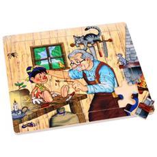 Puzzle L'officcina Di Geppetto Pinocchio