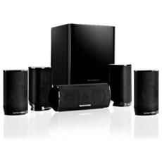 Sistema Di Diffusori Home Theater A 5.1 Canali. Potenza Raccomandata Dell'amplificatore 10 - 80 Watt (impedenza 8 Ohm Nominali). Subwoofer Attivo 200 Watt. - Hk-ts9bq