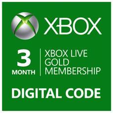 Abbonamento Xbox Live Gold Di 3 Mesi - Esd - Digital Code