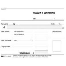 Cf10blocco Ricevuta Condominio 50x2