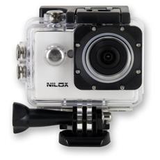 Action Cam Mini UP Bianco Sensore CMOS HD Ready Display 1.5''