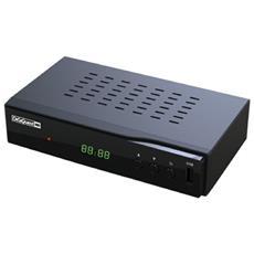 Ricevitore Digitale Terrestre DVB-T2 / HEVC Full HD USB HDMI Scart