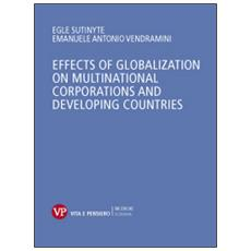 Effects of globalization on multinational corporations and developing countries