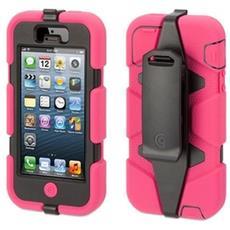 Custodia Survivor Case Griffin Rosa / Nero Per Iphone 5