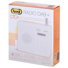 Radio Digitale Dab+ Trevi Dab 791 R Nero