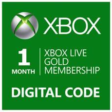 Abbonamento Xbox Live Gold Di 1 Mese - Esd - Digital Code