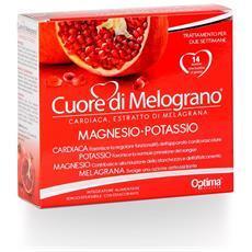 Optima Cuore Di Melograno Magnesio-potassio - 14 Bustine