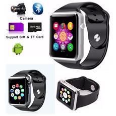 "Smartwatch A1 Display 1.54"""" Bluetooth Con Sim + Sd / Tf E Cronometro"