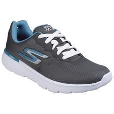 Go Run 400 Scarpe Da Ginnastica Donna (38 Eu) (carbone - Blu)