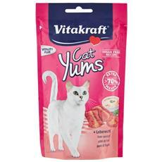 Snack per gatti Cat Yums Patè di Fegato 40 gr