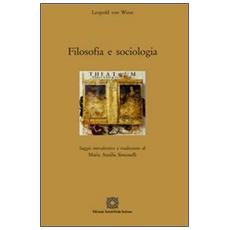 Filosofia e sociologia