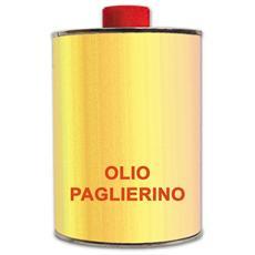 Olio Paglierino per la Pulizia di di Mobili e Porte in Legno Chiaro 1 Lt.