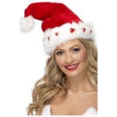 Cappello Babbo Natale Con Luci