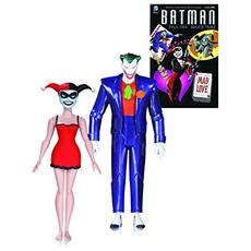 Figura Batman The Animated Series Action Figure 2 Pack The Joker E Harley Quinn Mad Love 2nd Ed. 15 Cm