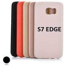 Custodia Protettiva Nera Ruvida Samsung S7 Edge Wimitech