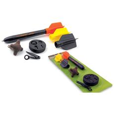 Galleggianti Marker Floats Kit 3oz Unica Nero Arancio