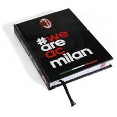 Diario Milan 2014/2015 Unica Nero Rosso