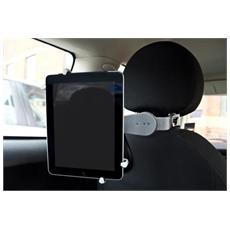 Universal Car Headrest Holder for 7-10.4'' Tablets Auto Passive holder Nero, Argento, Acciaio inossidabile, Bianco