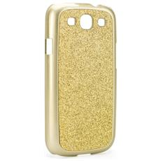 Cover Iplate Glamor per Galaxy S3 Gold
