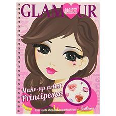 Make-up artist principesse. Ragazze glamour