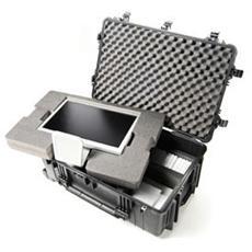 Valigia per Fotocamera SLR / DSLR Obiettivi e Laptop in Acciaio Inossidabile Nero 480265