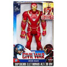 Figure Iron Man Elettr. Civil War