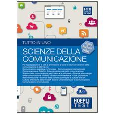 Test. Tutto in uno. Scienze della comunicazione. Vol. 8