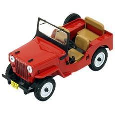 Prd365 Jeep Willys Cj3b 1953 Red 1:43 Modellino