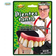 Denti Da Bullo / secchione / tonto - Con Pasta Termoplastica