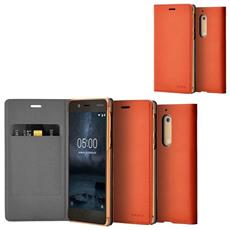 Flip Cover Originale Custodia Cp-302 Nokia Arancione Per Nokia 5