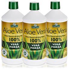 Optima Puro Succo Di Aloe Vera - Vera Forza, 3 X 1 L