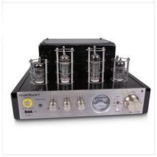 Amplificatore Stereo Hifi Madison Tubi 2x25w Rms