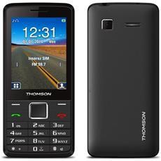 """Tlink 28+ Noir - Téléphone 2g Dual Sim - Ecran 2.8"""""""" 240 X 320 - Bluetooth - 1400 Mah (Catégorie : Téléphone Portable)"""