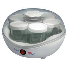 75105A Yogurteria Easy Yogurt 7 Vasetti Vetro da 150 ml