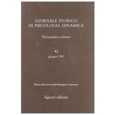 Giornale storico di psicologia dinamica. Vol. 42