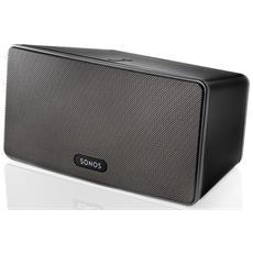 Speaker Audio Wireless PLAY: 3 Wi-Fi colore Nero