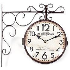 Orologio A Muro Ferro Corten