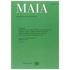 Maia. Rivista di letterature classiche (2014) . Vol. 2