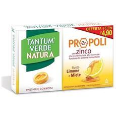 Verde Natura 15 Pastiglie Gommose Miele E Limone
