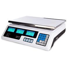 Bilancia Elettronica Digitale Professionale Min. 5 Gr Max. 40 Kg Divisione 2 Gr
