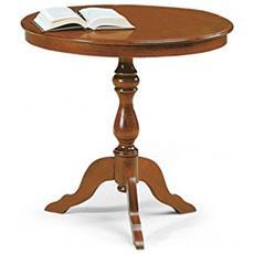 Tavolino In Legno Da Diam 60x75h