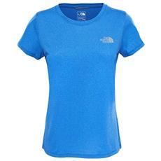 Maglietta Donna Reaxion Ampere Crew Azzurro L