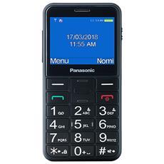 "KX-TU150 Senior Phone Display 2.4"" Micro SD Bluetooth con Tasti Grandi + SOS Fotocamera Colore Blu"