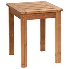 Tavolo Piccolo Da Giardino St160 In Legno Massiccio Thermowood Prowood