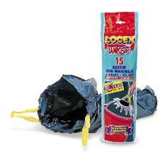 15 sacchi immondizia 53x65 43lt 25µ con maniglie logex